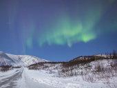 Aurora borealis, Kvaloya