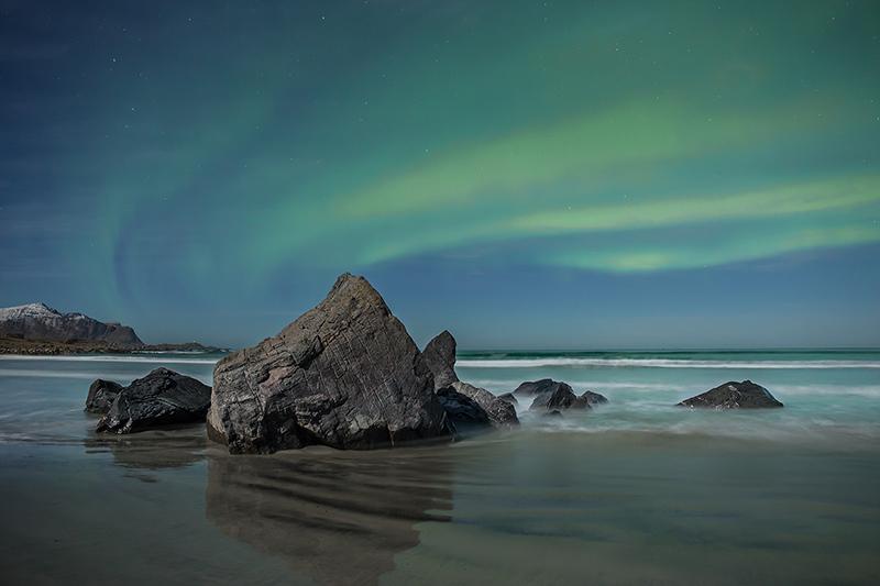 Aurora, Skagsanden Beach