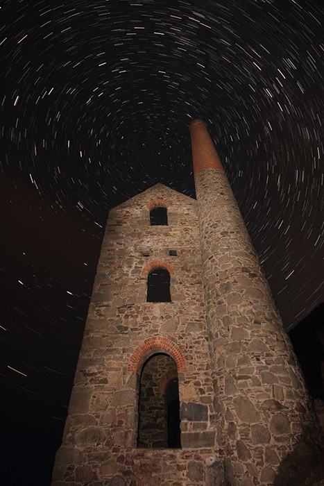 Tin Mine under the stars