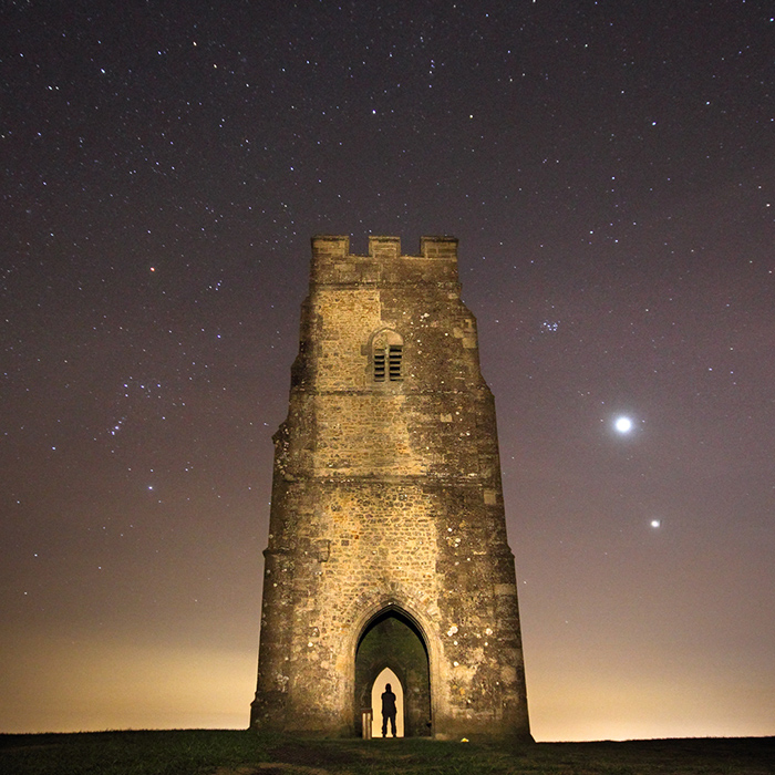 Star Gazing, Glastonbury Tor
