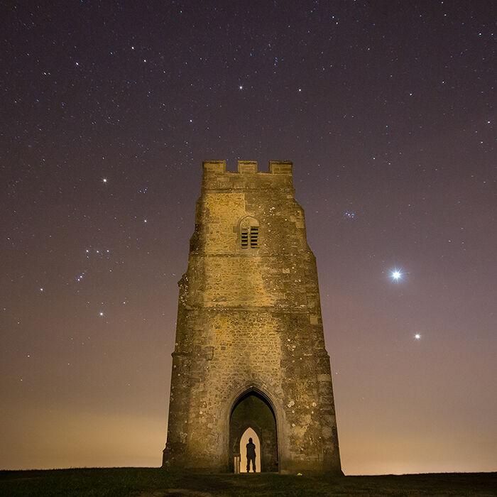 Star Gazing, Glastonbury Tor