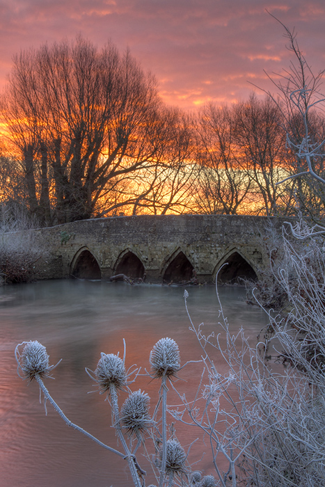 Lacock Bridge, River Avon