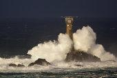 Storm, Longships Lighthouse