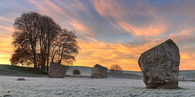 Avebury in Winter