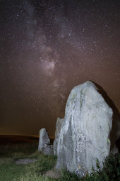West Kennet Long Barrow and Milky Way