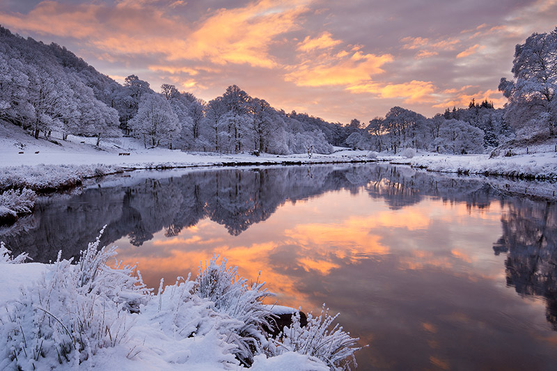 River Brathay in winter