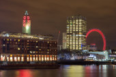 Oxo Tower and Gabrielle's Wharf