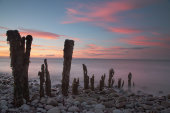 Failed groynes, Porlock Weir