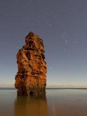 Ladram Bay by moonlight