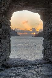 Sunrise over Dartmouth Castle
