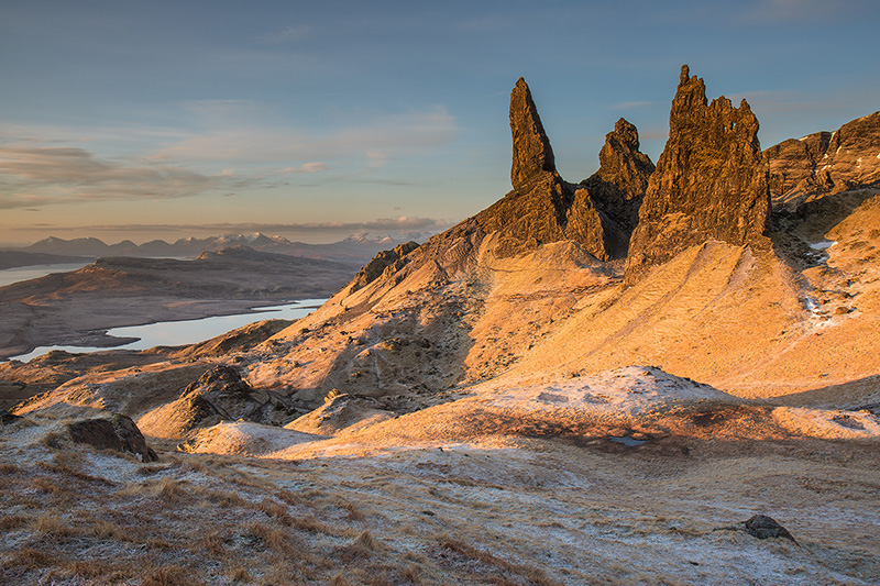 Frosty Morning, Old Man of Storr