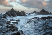 Hartland Quay at dawn