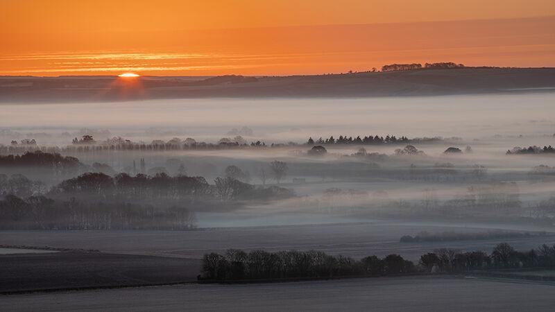 Sunrise, Vale of Pewsey