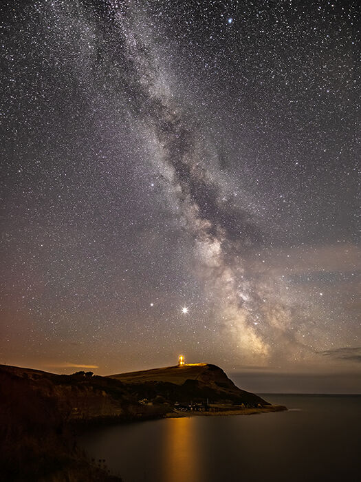 Milky Way over Clavell Tower