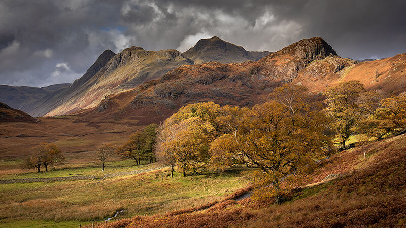 Side Pike and Langdale Pikes