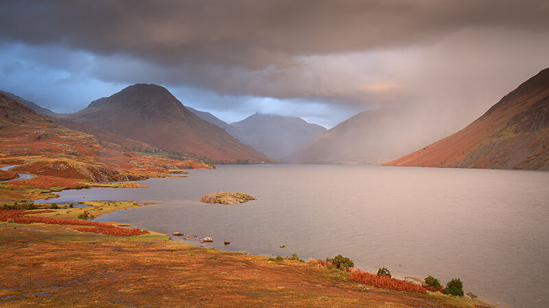 Hailstorm over Wastwater