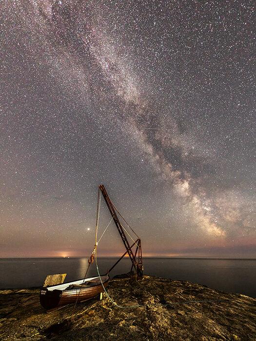 Milky Way over Portland Bill