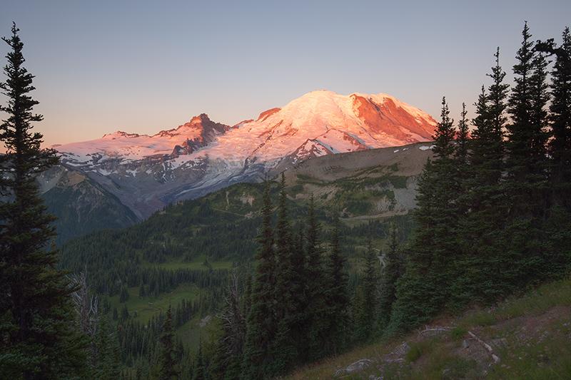 Sunrise, Mount Rainier