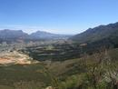 Franschhoek from the Pass