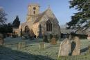 St Mary's Lower Heyford - mid morning frost