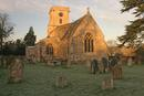 St Mary's Lower Heyford - early morning winter light