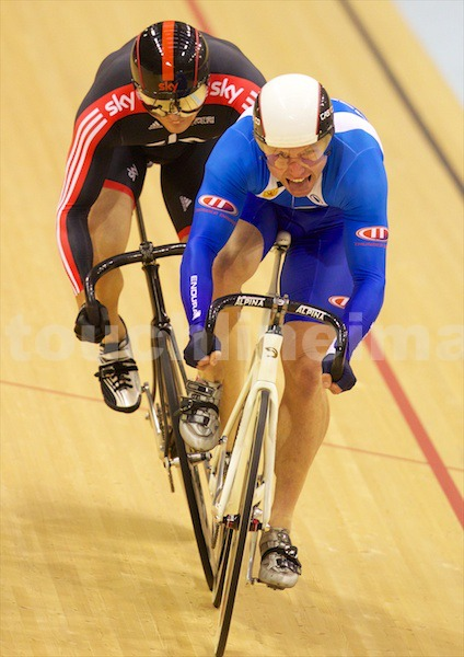 Craig McLean pips Sir Chris Hoy for a sprint win