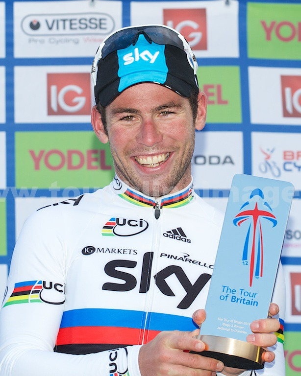 World Champion Mark Cavendish