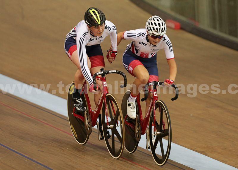 Katie Archibald and Manon Lloyd
