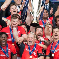 Saracens lift the Champions Cup 2017