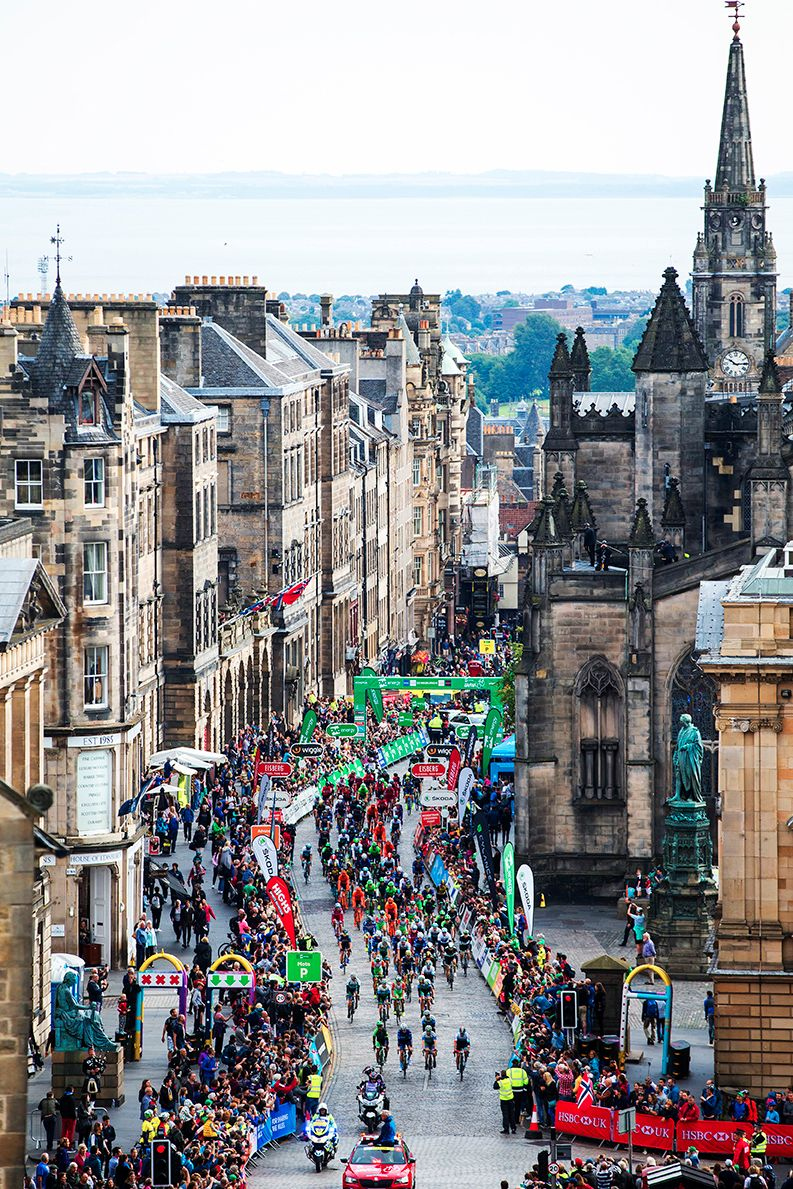 The Royal Mile  - Tour of Britain