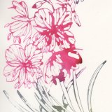 Willowherb watercolour print