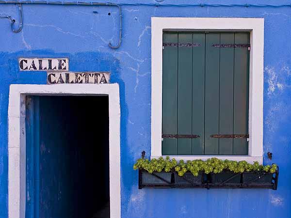 Blue House, Burano