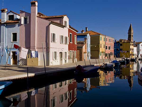 Burano Canal Reflections