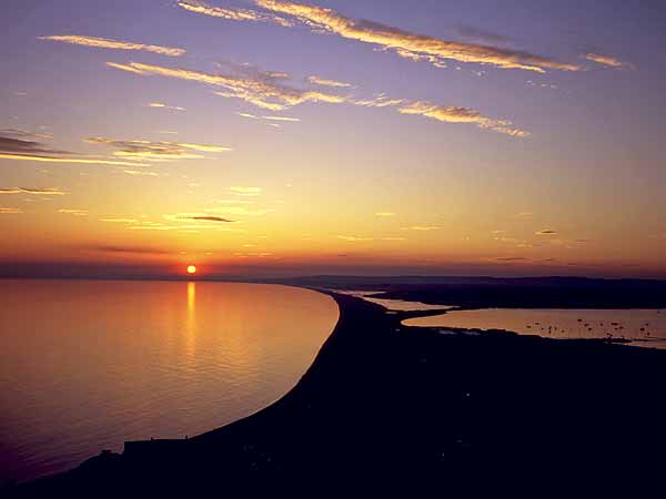 Chesil Sunset