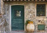 Door and Urn