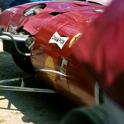 Ferrari Red Silverstone 1968