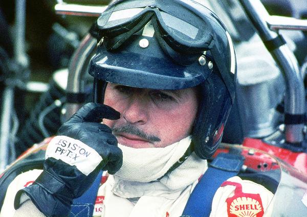Graham Hill Portrait, Silverstone