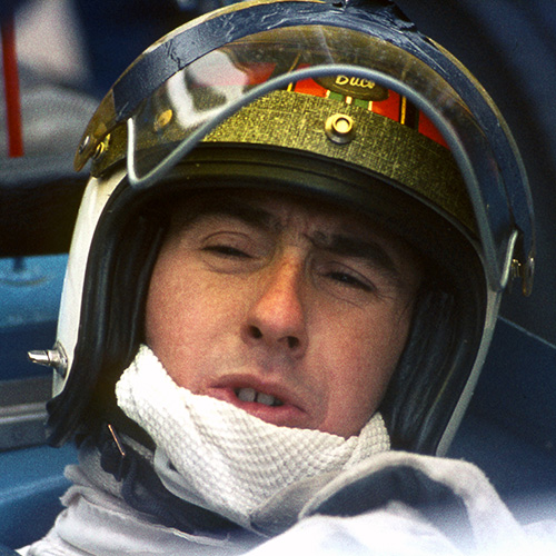 Jackie Stewart Silverstone 1969