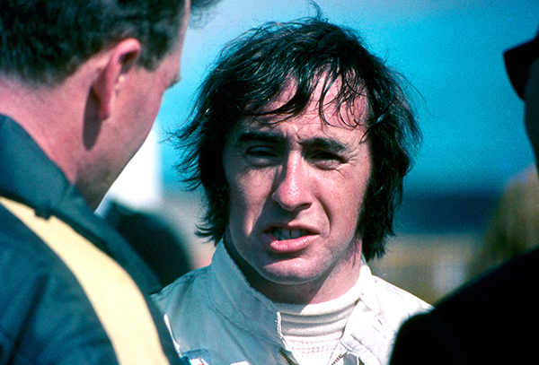 Jackie Stewart - After the Race, Thruxton 1969