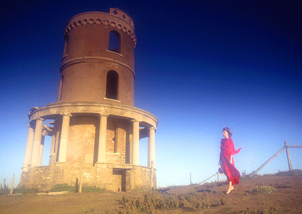 Lady in Red - Clavell Tower