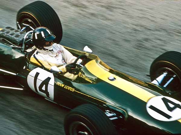 Graham Hill Lotus F1 Monaco 1967