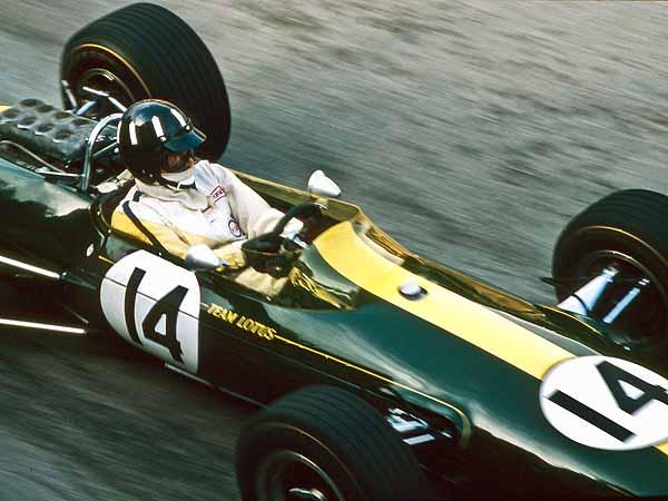 Graham Hill Lotus F1 Monaco 1967