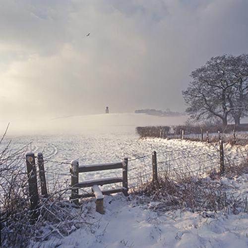 Horton Tower, Snow