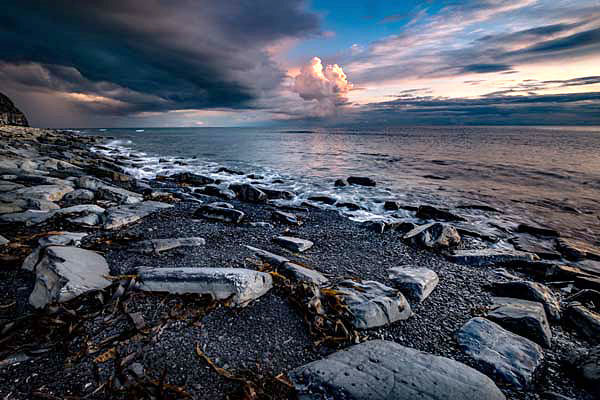 Kimmeridge Bay Evening Light