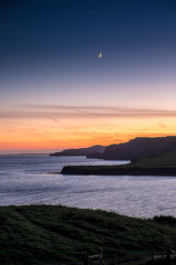 New Moon over Kimmeridge