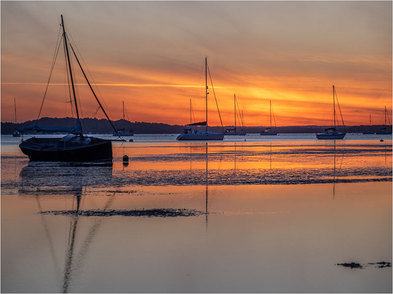 Poole Harbour Sunset 1