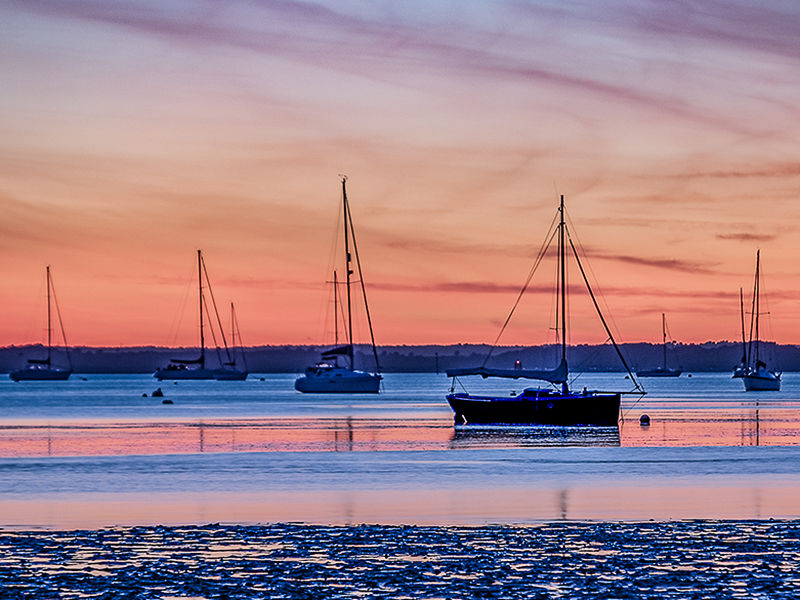 Poole Harbour Sunset 3