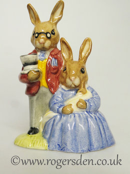 Father, Mother & Victoria  Bunnykins DB  68