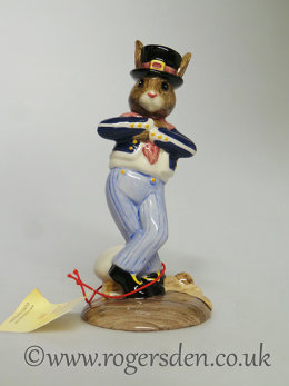 Hornpiper Bunnykins DB  261 Out of Stock
