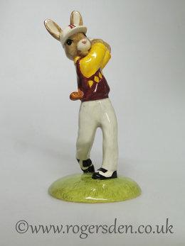 Golfer Bunnykins DB  255